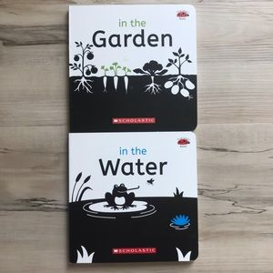 Black and White Infant Books